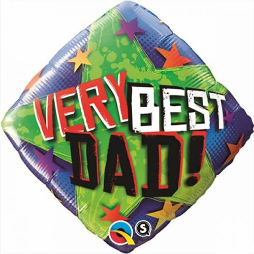 Folieballon Vaderdag Best Dad